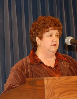 Marge Berglind, President, Child Care Association of Illinois